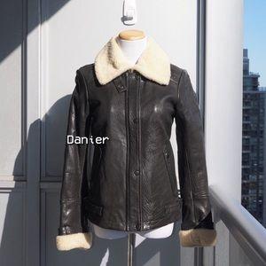 🔮 Danier Icaria Leather Jacket (XXS)